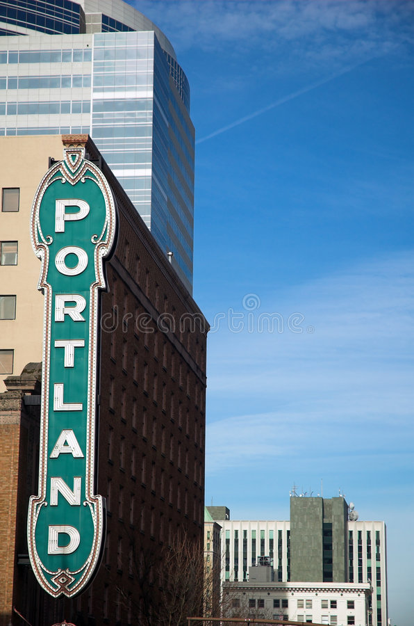 Portland images stock
