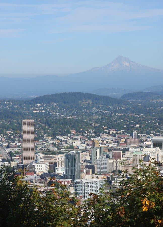 Portland & capa do Mt. fotografia de stock royalty free