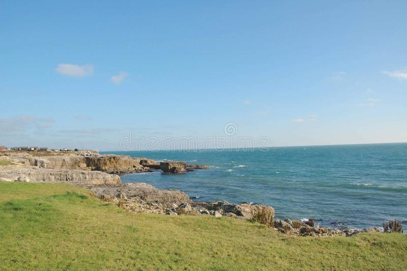 Portland Bill imagem de stock royalty free