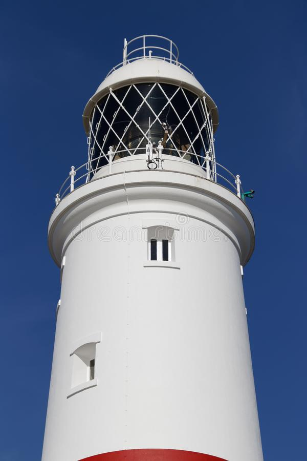 PORTLAND BILL, DORSET/UK - FEBRUARY 16 : View of Portland Bill royalty free stock photography