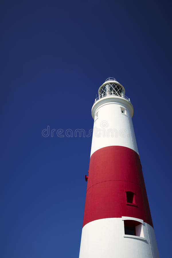 Portland Bill Lighthouse. Dorset England royalty free stock image