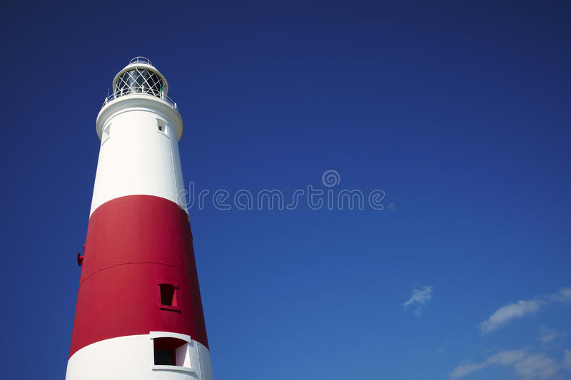 Portland Bill Lighthouse. Dorset England royalty free stock photography
