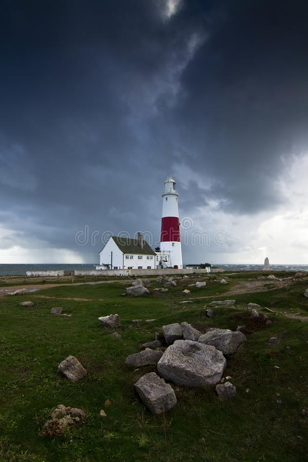 Portland Bill Lighthouse royalty free stock image