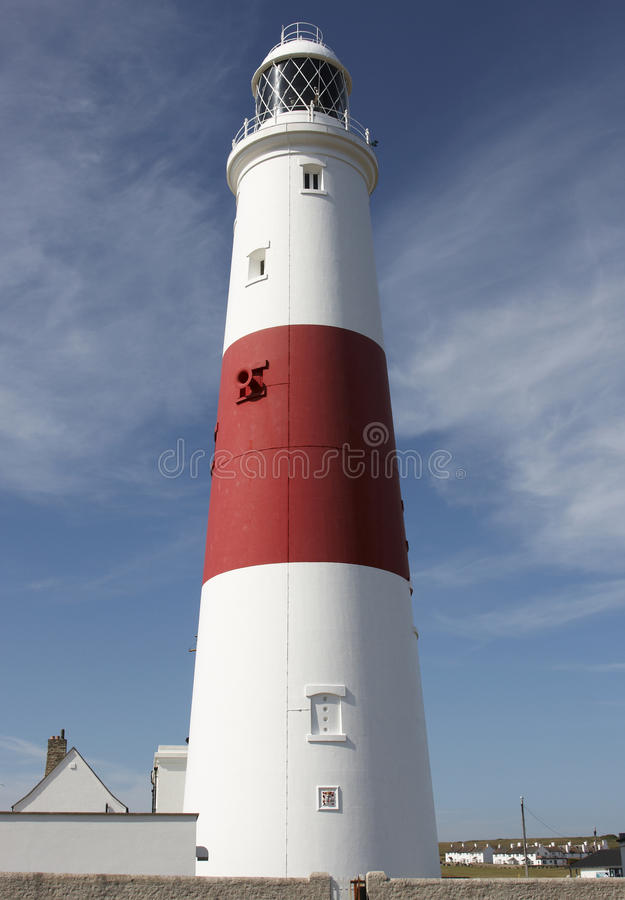 Portland bill lighthouse. In Dorset England royalty free stock image