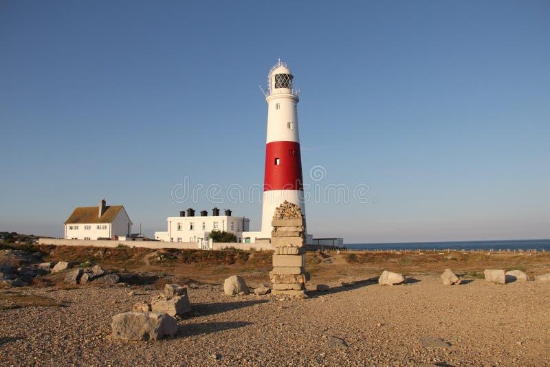 Portland Bill Lighthouse, Dorset, UK royalty free stock photo
