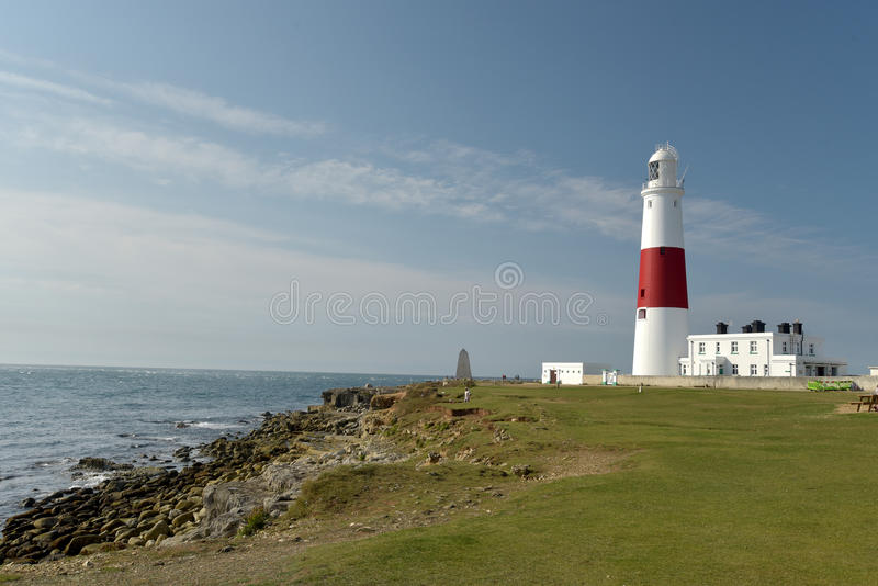 Portland Bill lighthouse on Portland Bill royalty free stock images