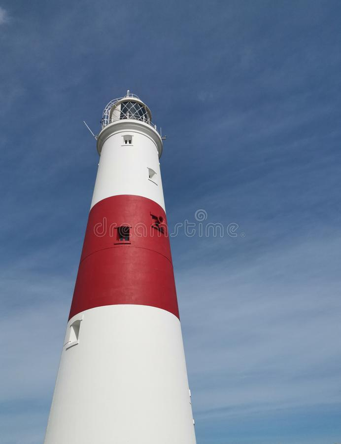 Portland Bill Lighthouse royalty free stock photography