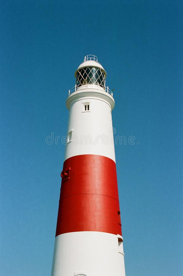 Portland Bill Lighthouse. And Visitor Centre, Dorset, UK royalty free stock photography