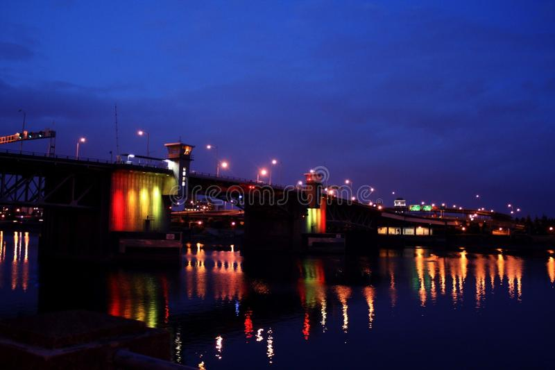Portland-Brücke stockbild