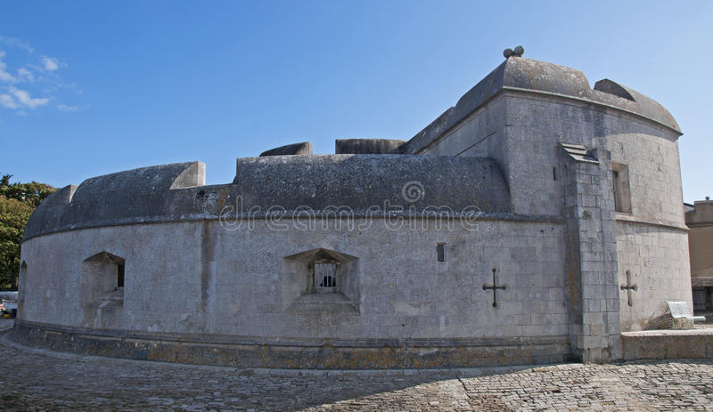 Portland Castle royalty free stock photography