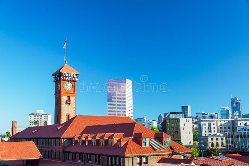 Portland da baixa, Oregon fotos de stock