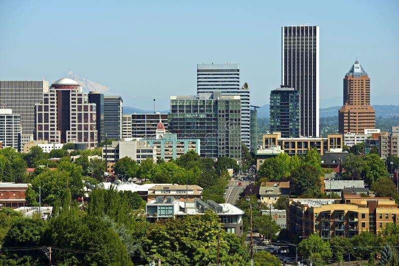 Portland do centro foto de stock royalty free