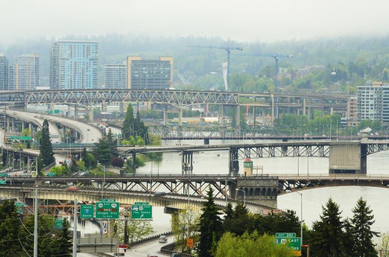 Portland du centre image libre de droits