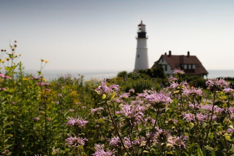 Portland głowy latarnia morska, Portlandzki Maine, usa fotografia royalty free
