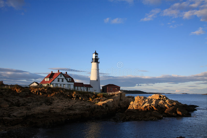 Portland Head Light. Portland Maine royalty free stock images