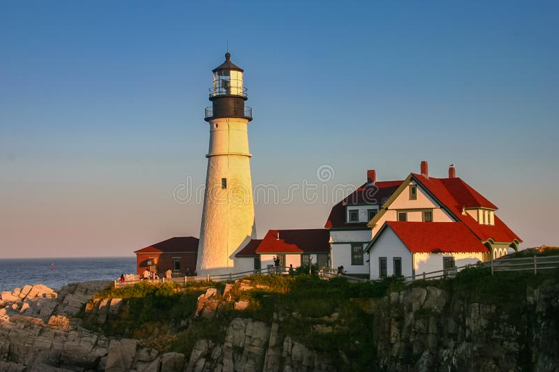 Portland Head Light, Portland, Maine stock photos
