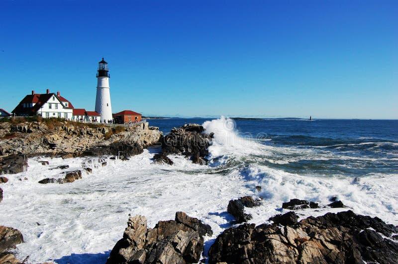 Portland Head Lighthouse, Maine royalty free stock photos
