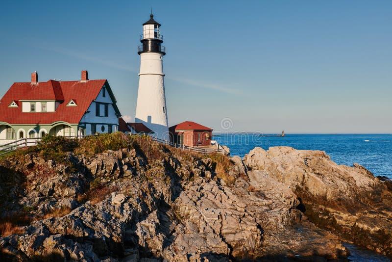 Portland Head Lighthouse, Maine, USA royalty free stock photos