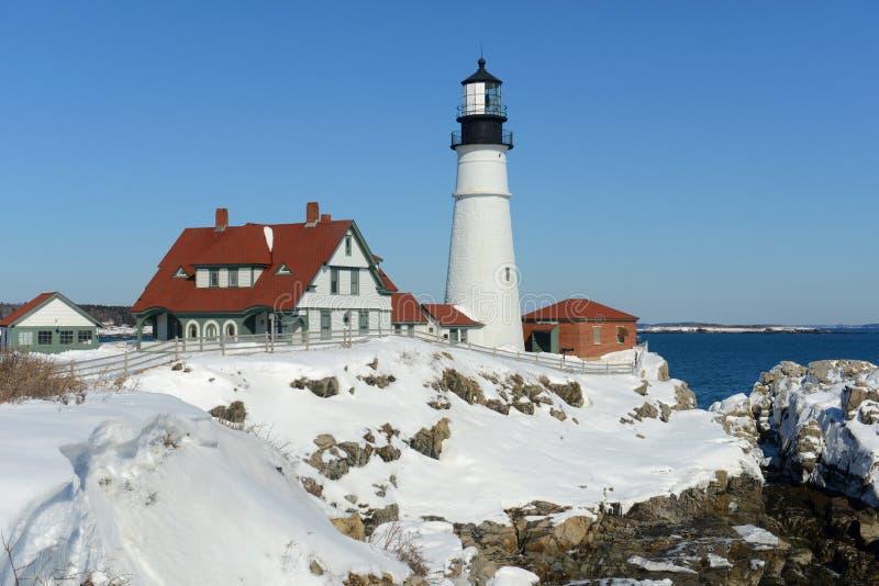 Portland Head Lighthouse, Maine stock image
