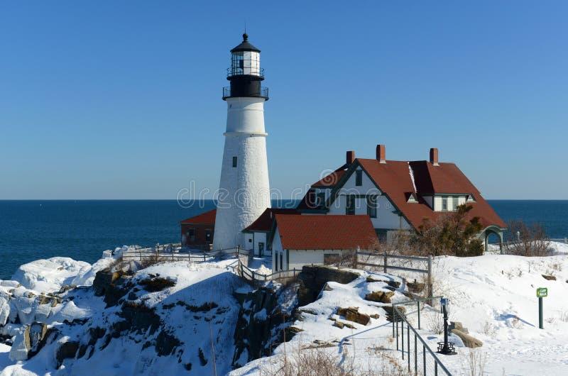 Portland Head Lighthouse, Maine stock photos