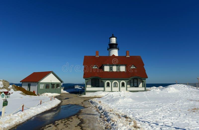 Portland Head Lighthouse, Maine stock photography
