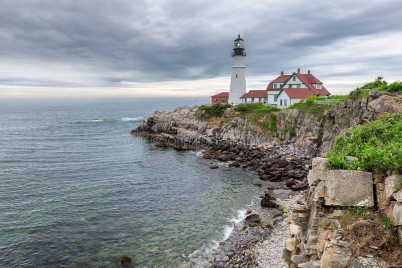 Portland Head Lighthouse royalty free stock photos