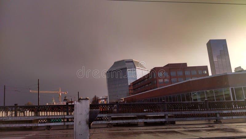 Portland-Himmel stockfotografie