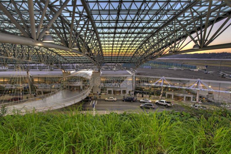 Portland-internationaler Flughafen-Abflug stockfotografie