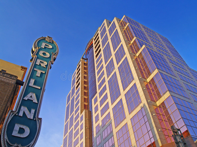 Portland Introduced royalty free stock image