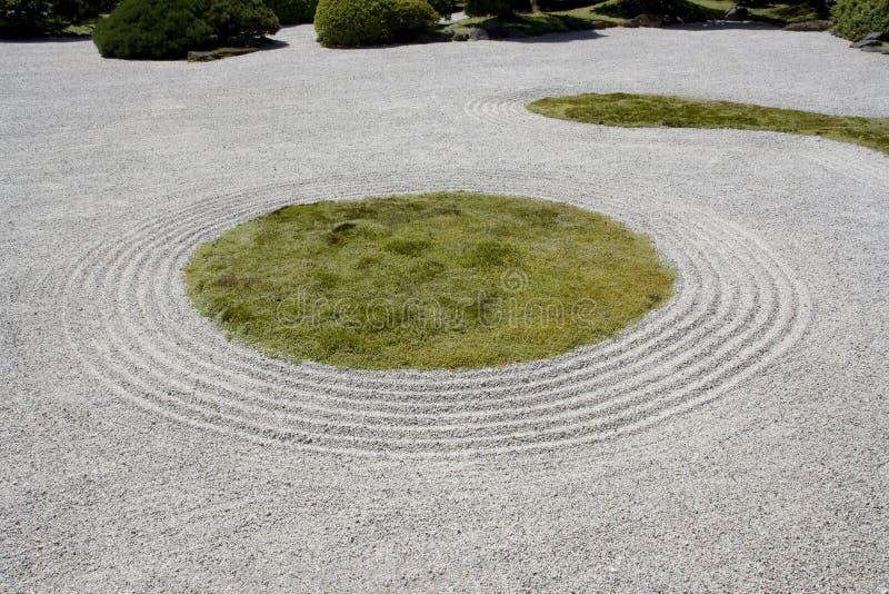 Download Portland Japanese Garden Zen Rock Sand Stock Image - Image: 31937923