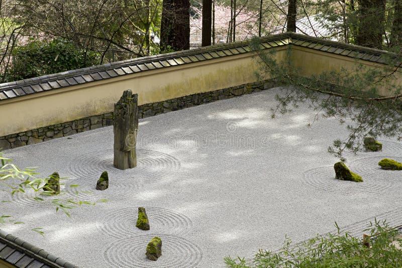 Portland japanese sand and stone garden stock image image of water stone 19046179 - Japanese sand garden mini ...