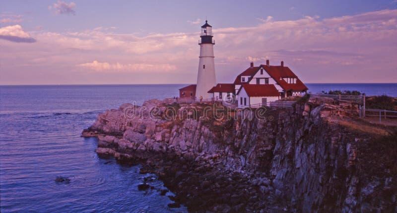 Portland lighthouse stock images