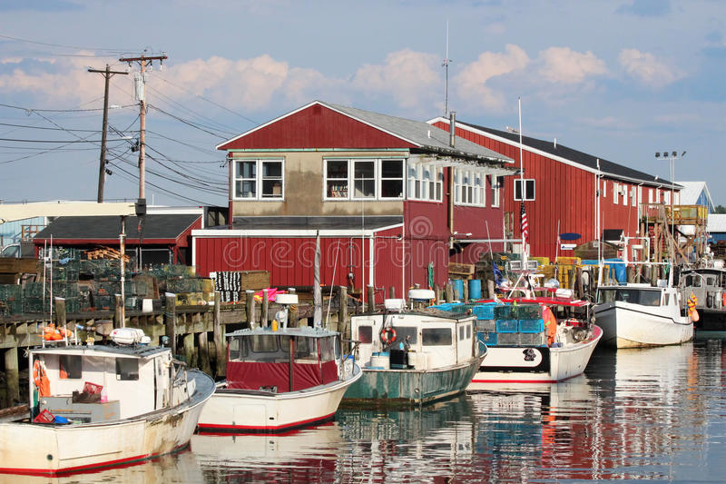 Portland, Maine stock fotografie