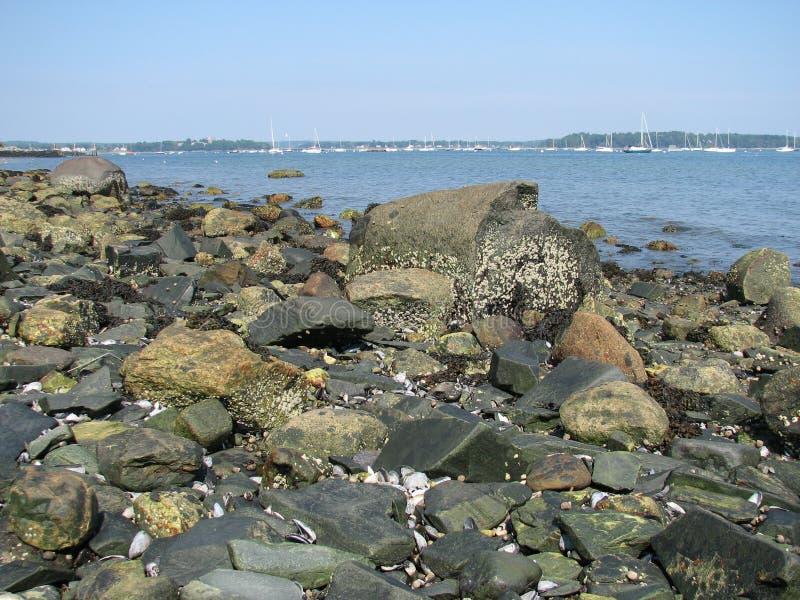 Portland Maine fotografie stock libere da diritti