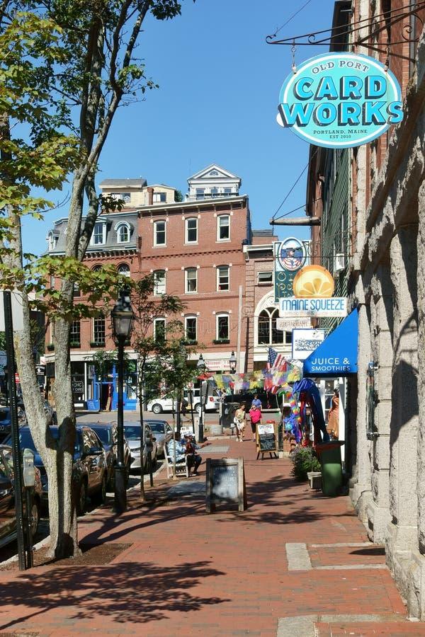 "Portland, Maine, Verenigde Staten, Verenigde Staten †""14 September, 2018 stock foto's"