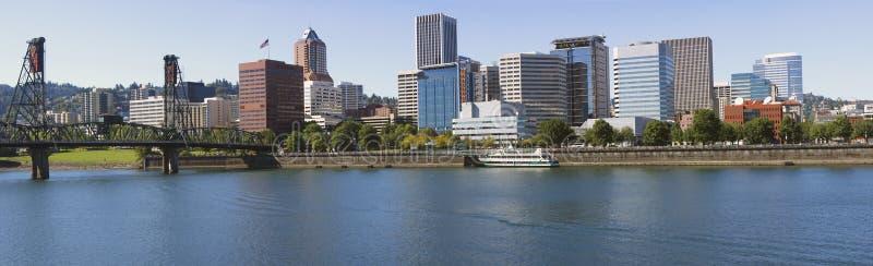 Portland ODER Skyline. stockfotos
