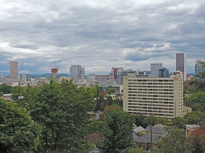 Portland Oregon royalty-vrije stock foto's