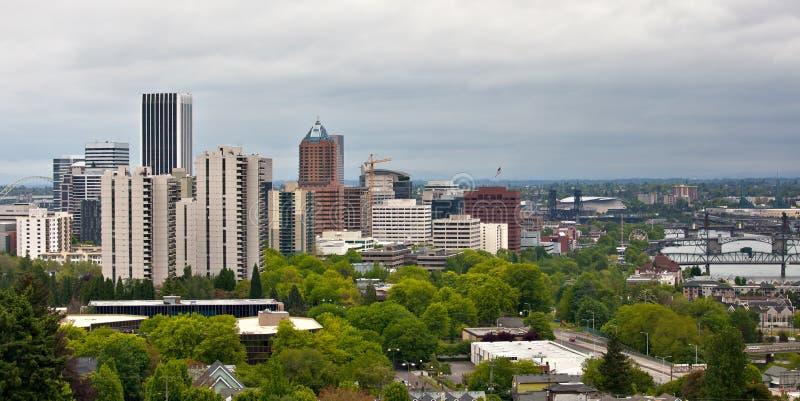Portland Oregon Van de binnenstad stock fotografie
