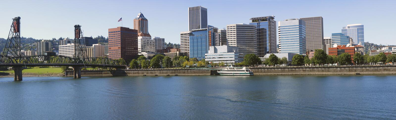 Portland OU horizon. photos stock
