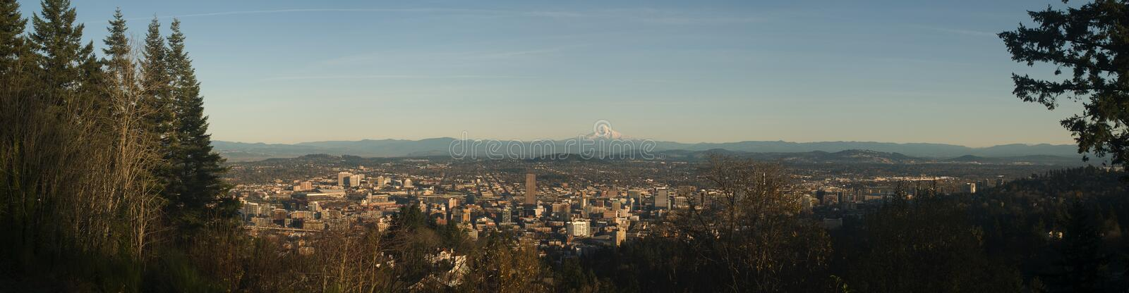 Download Portland Panorama stock photo. Image of oregon, city - 10978690