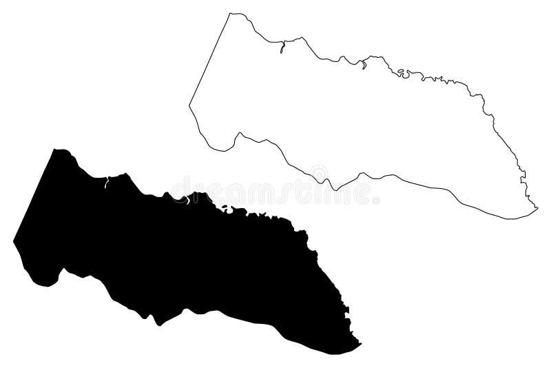 Portland Parish Parishes Of Jamaica, Surrey County Map ...