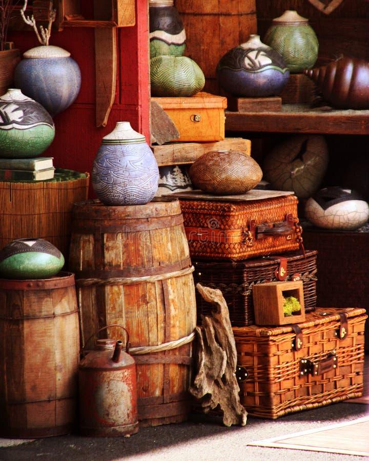 Portland Pottery stock photos