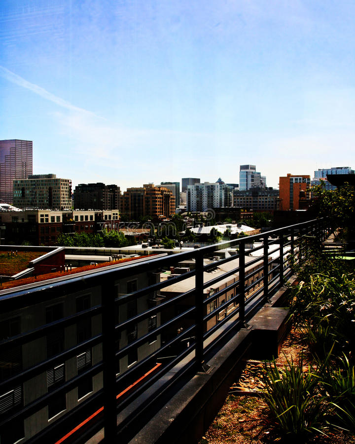 Portland-Skyline stockfoto