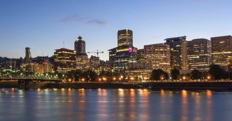 Portland-Skyline stockfotos