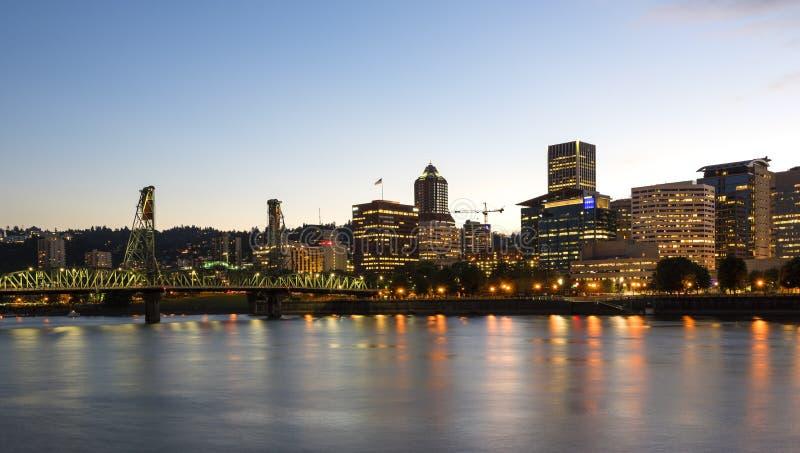 Portland-Skyline lizenzfreie stockfotografie