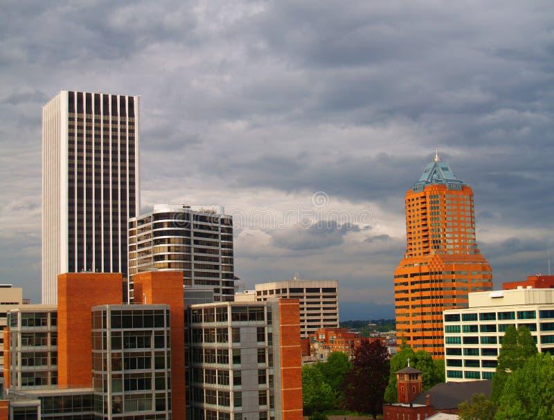 Portland Skyscrapers stock image