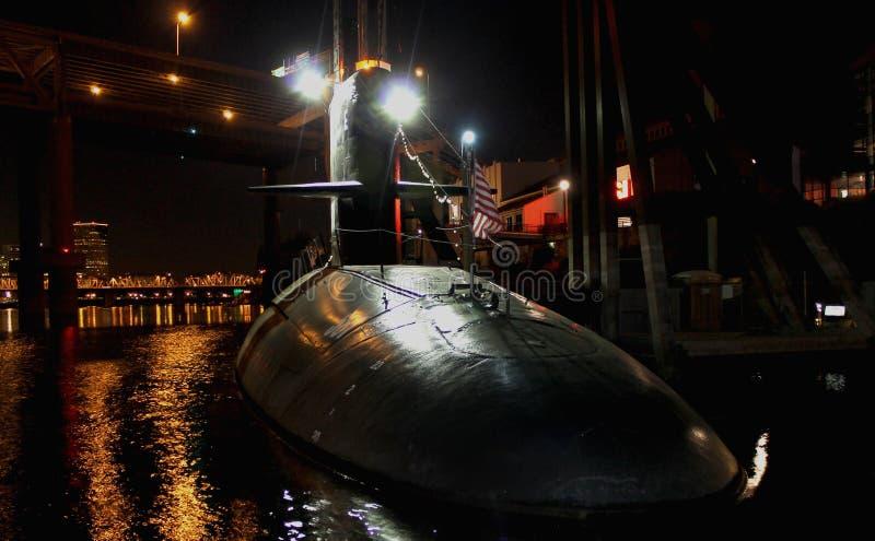 Portland submarino  imagens de stock royalty free