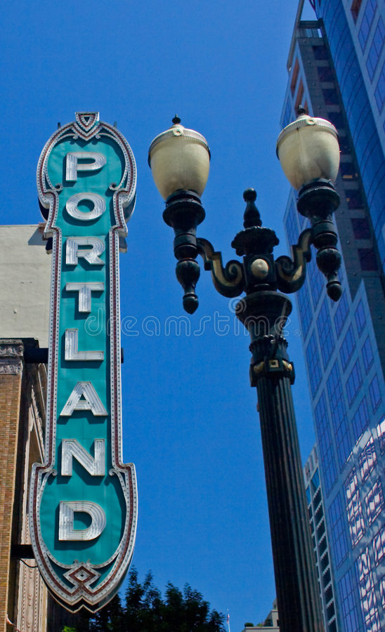 Download Portland Theater Royalty Free Stock Image - Image: 5480726