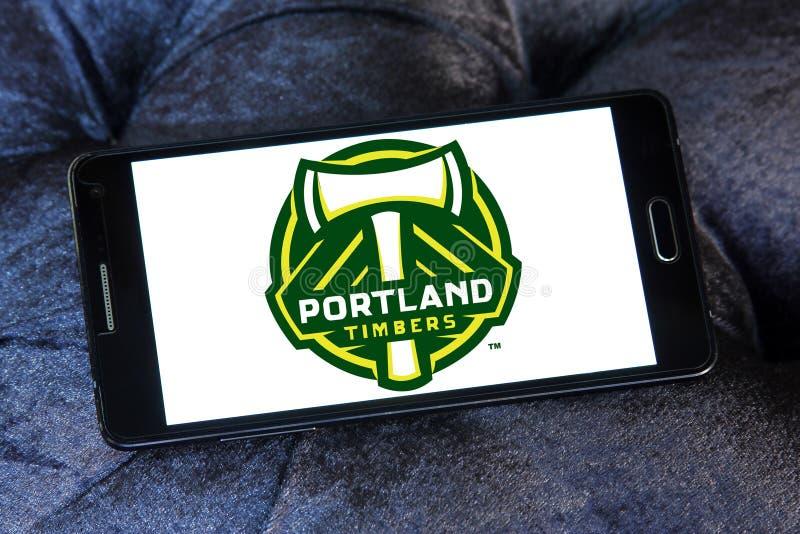Portland Timbers Soccer Club logo royalty free stock image