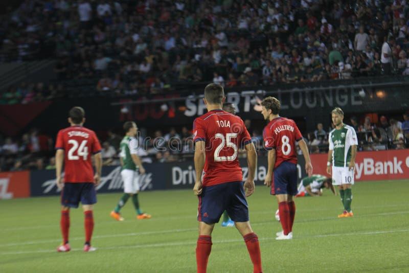 Portland timmer vs Chivas USA royaltyfria bilder